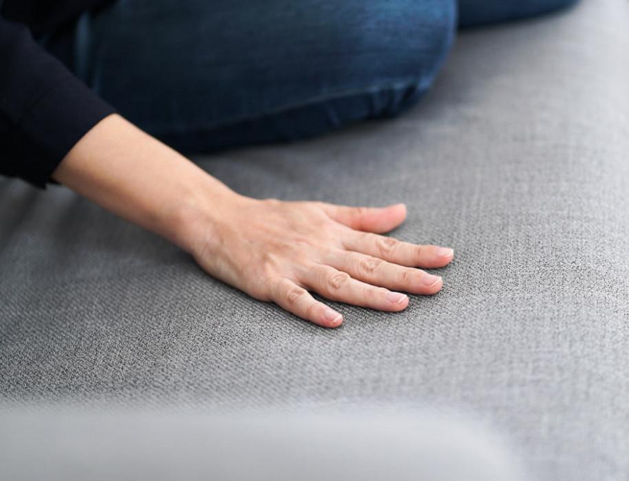 ikea sofa cover karlstad in everyday tweed