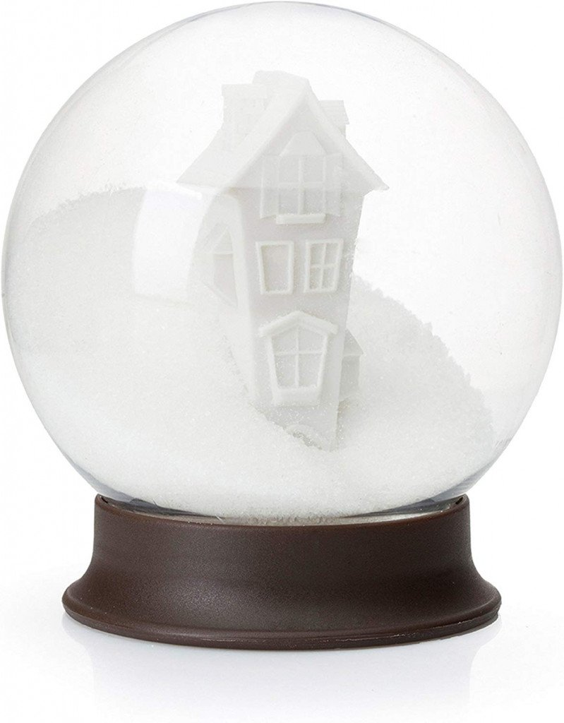 Looks like a snow globe, but it's actually a sugar container