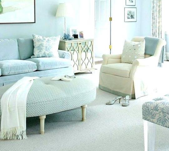 Madison Mistでソファカバーをつくって、お部屋をミントブルーにコーディネートしてみませんか?
