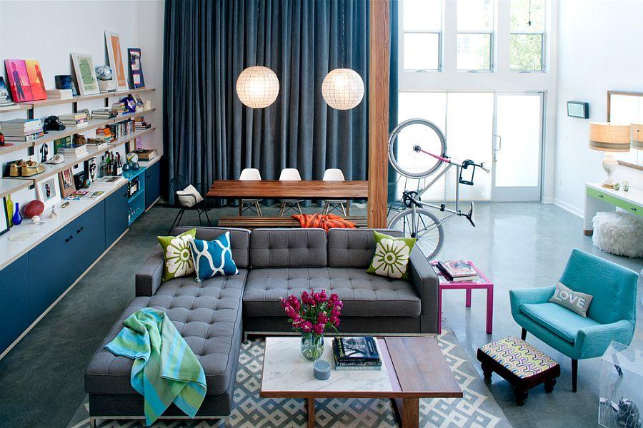Eclectic Home Wohnzimmer sind sehr schwierig zu gestalten, aber sehr bereichernd im Ergebnis