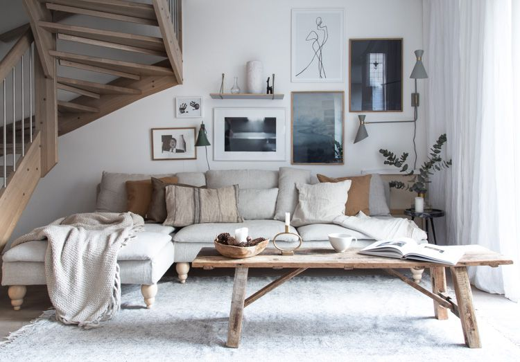 scandinavian living rooms are bright, warm, cosy and inviting