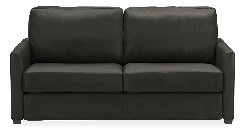 Room & Board Berin sofa in black leather