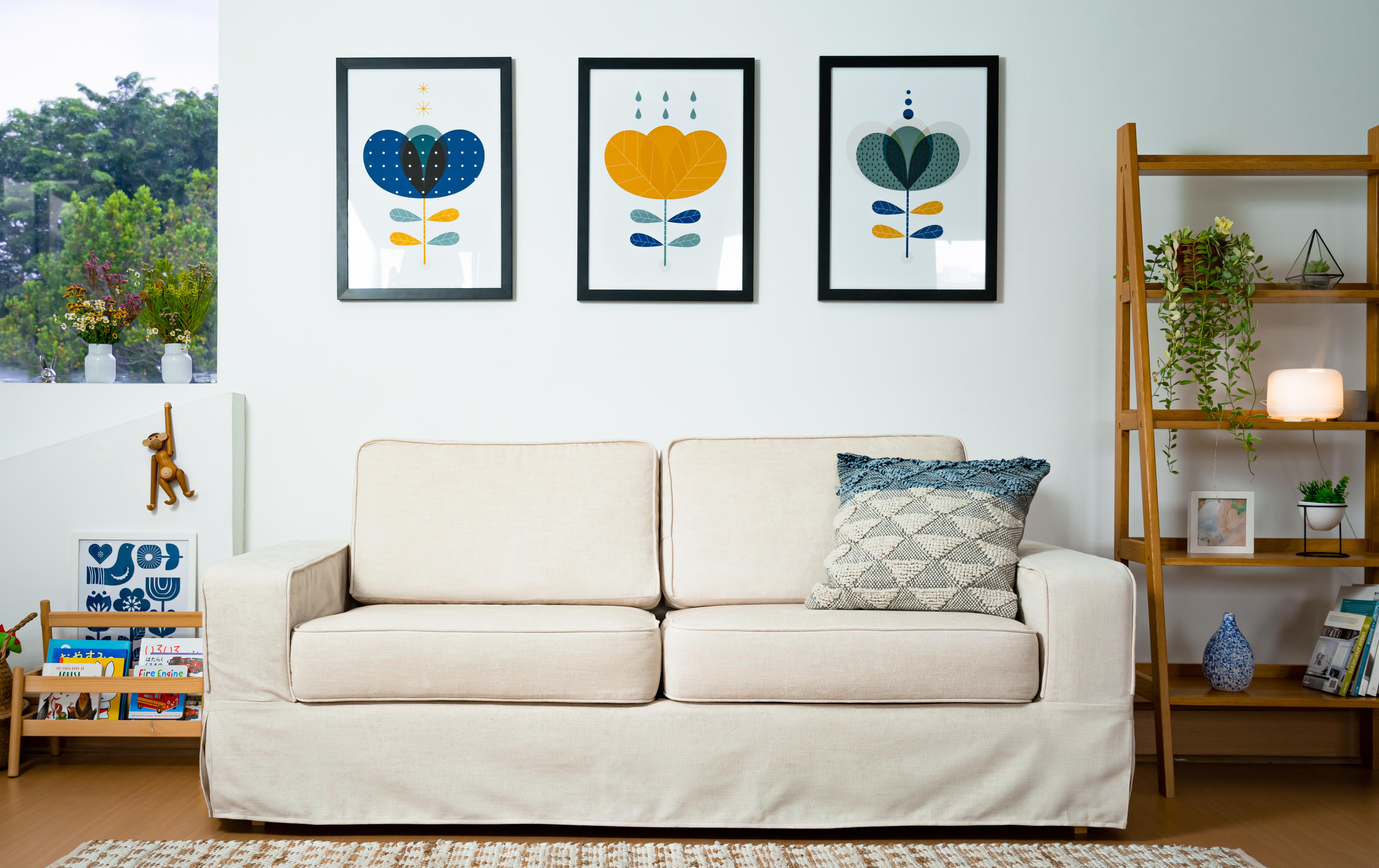 カラーバリエーションも豊富なので、お部屋のイメージにあった色をお選び頂けます。