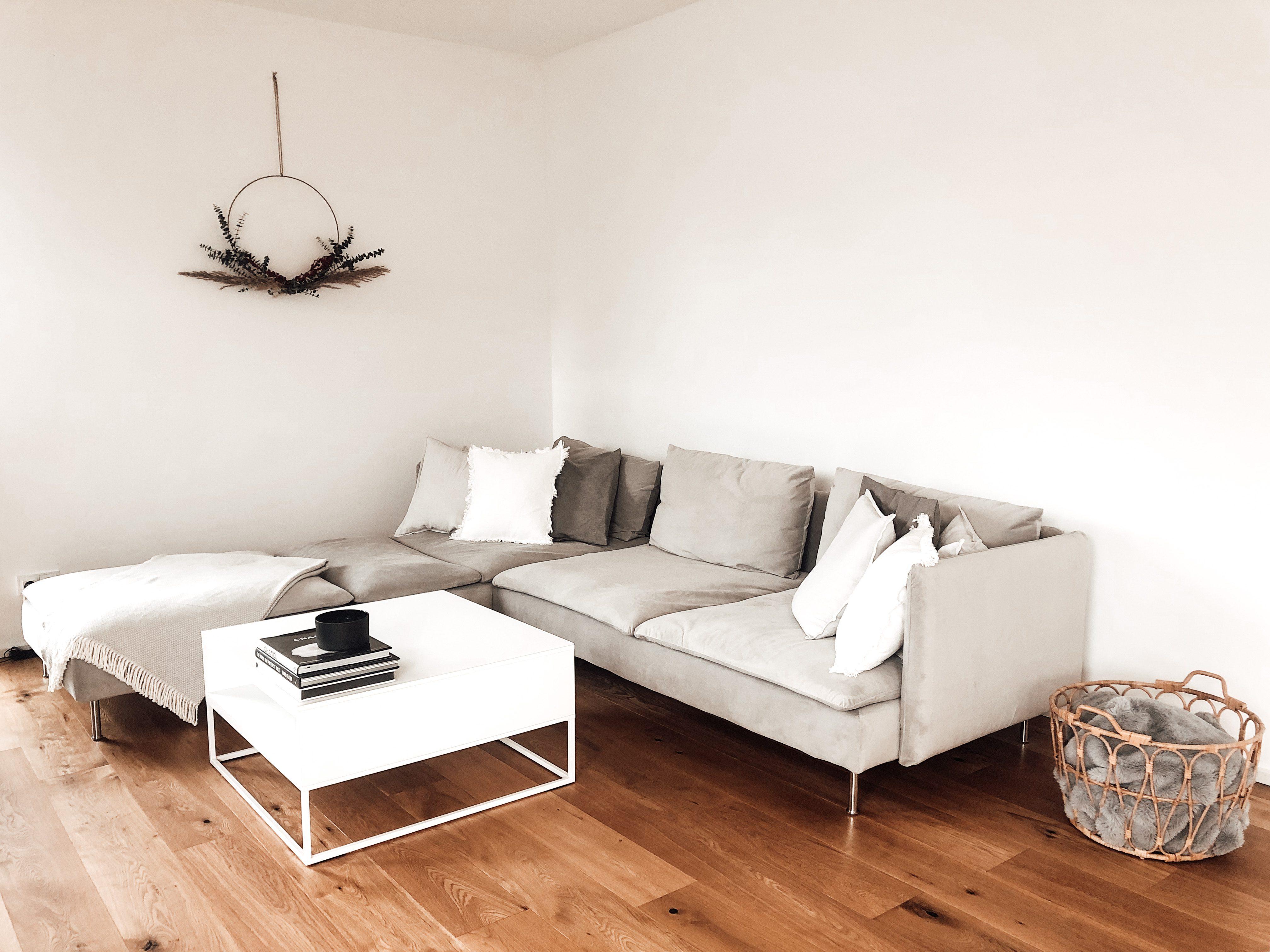 IKEAのSoderhamn/ソーデルハムンの設置事例。完璧な組み合わせで北欧風コーナーソファ兼デイベッドの完成