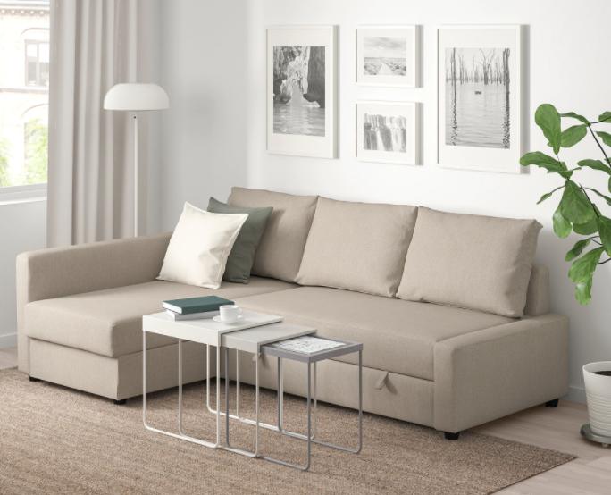 Ikea Friheten sleeper in beige