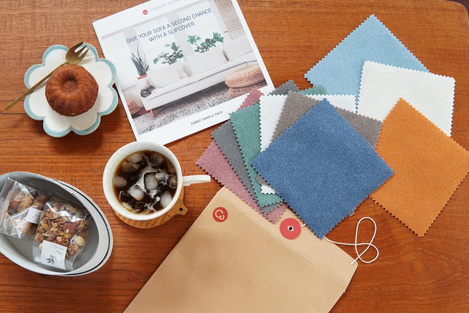 Collection de tissus Comfort Works pour des housses de remplacement