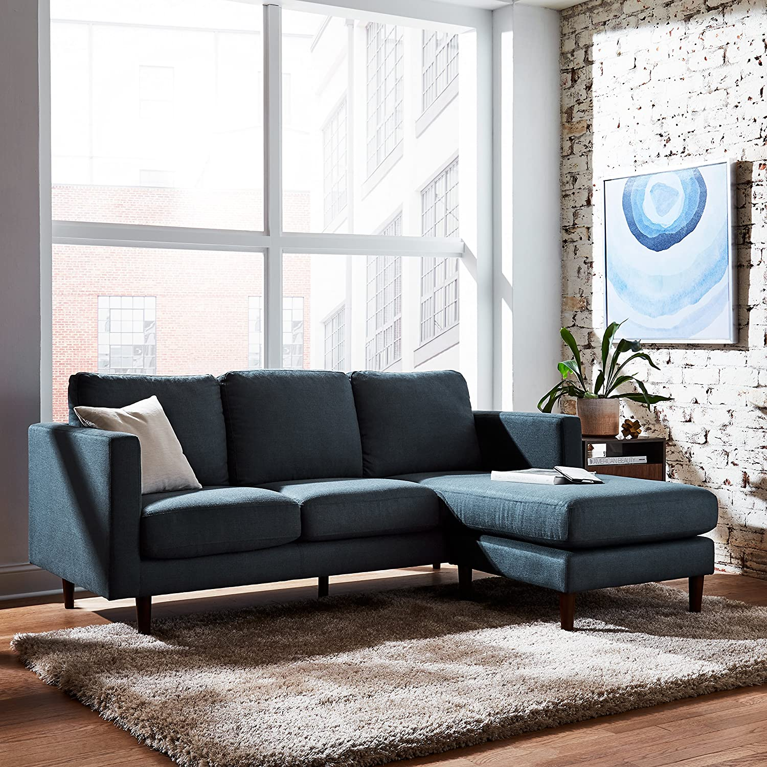the perfect apartment-sized sectional sofa