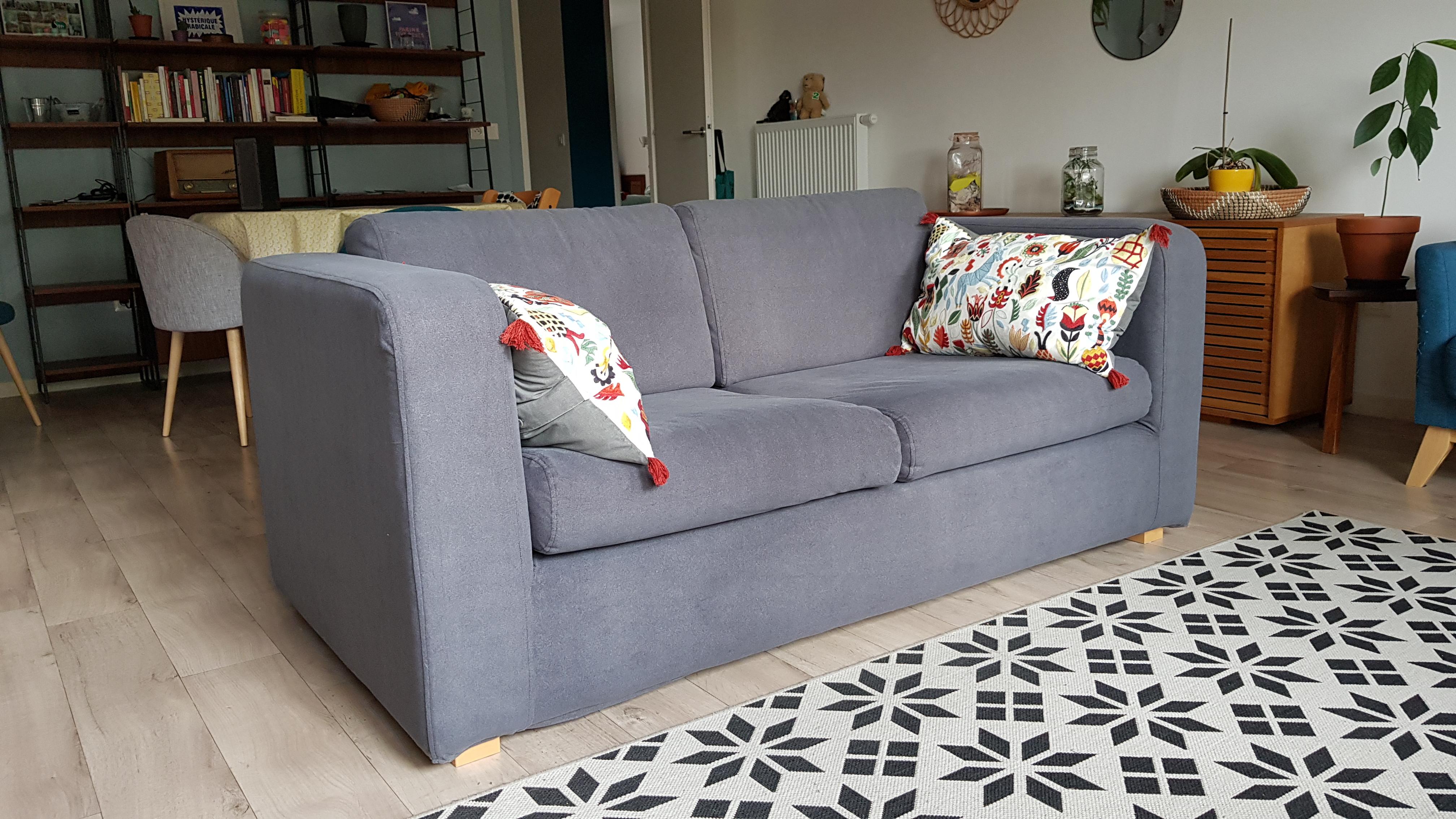 Rénover votre canapé Habitat avec une housse de remplacement