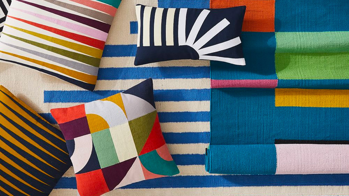30 throw cushions in every colour and finish you could imagine