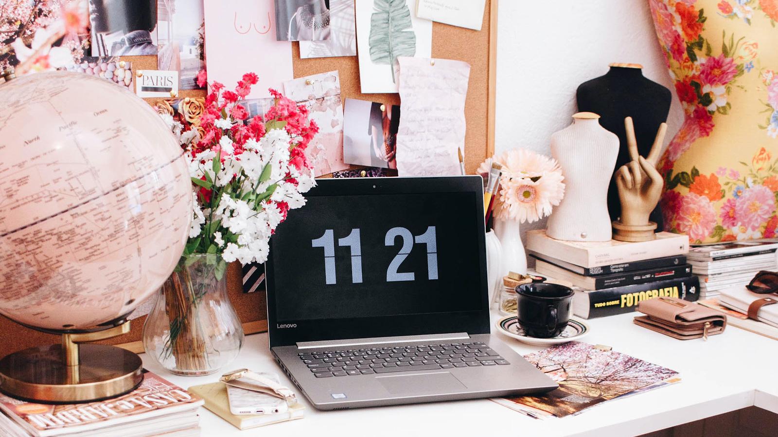 Home-Office-Upgrade mit toller Deko