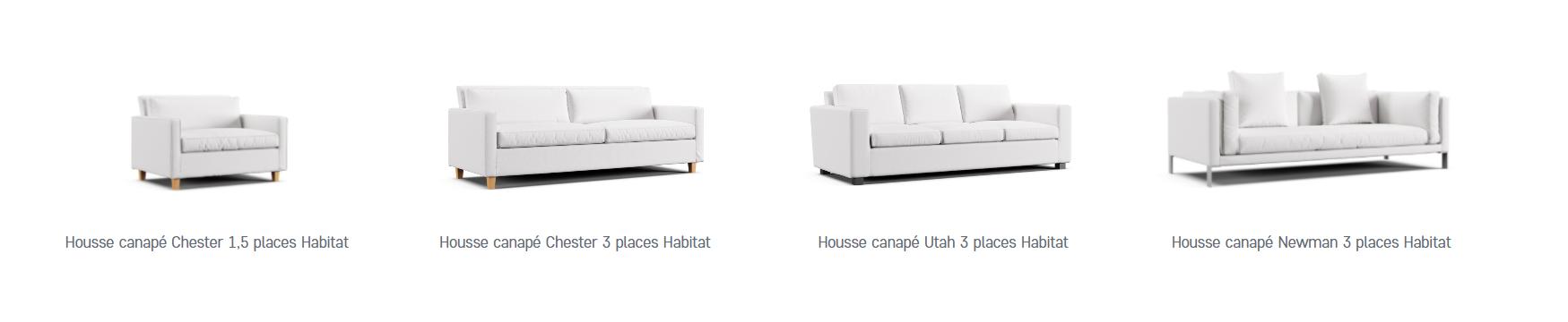 Rénover votre canapé Habitat avec une housse de remplacement de chez Comfort Works