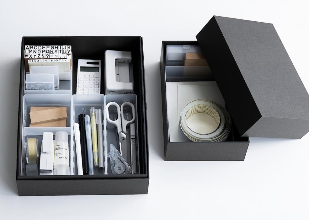 無印良品おすすめの収納アイテム。ボックスの中も綺麗に整理することで、片付けの時間も、探す時間も大きく削減することができます。