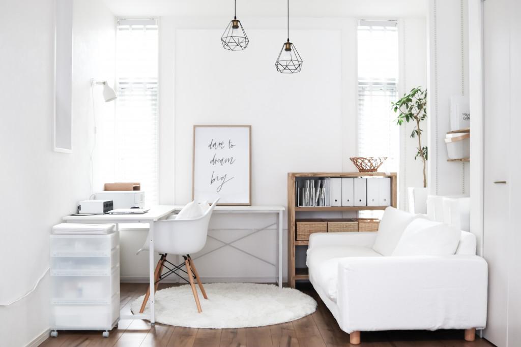 隠す収納・見せる収納で散らかりがちなリビングを綺麗にまとめる 無印良品おすすめの収納アイテム。