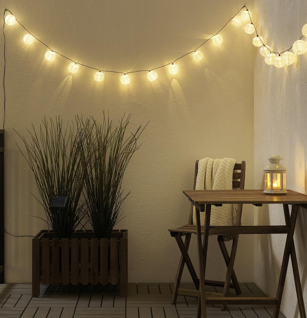 ベランダをお洒落に飾るIKEAのおすすめアイテム7選!夜でもベランピングを楽しむならソラールヴェートのランプがマストアイテム!