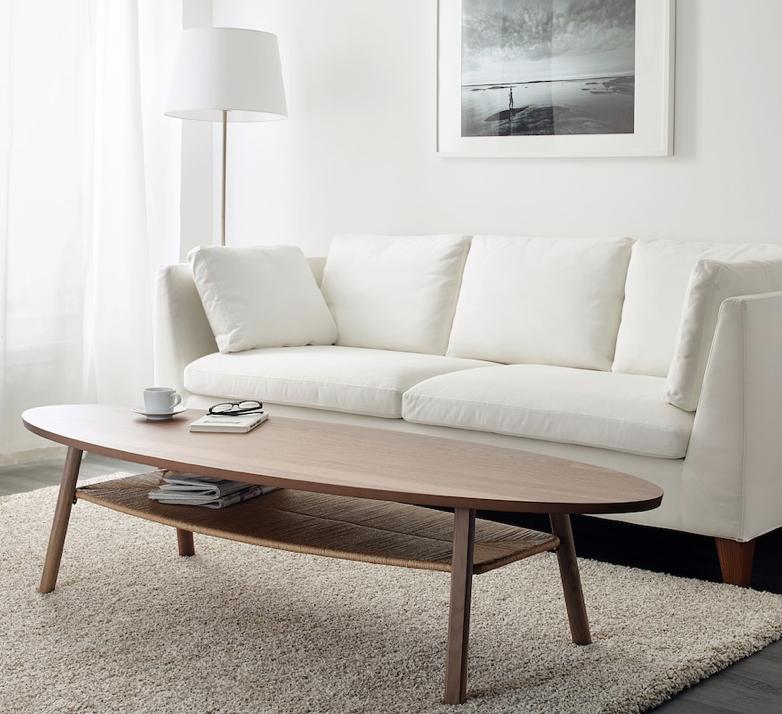 IKEAで人気のSTOCKHOLM/ストックホルムシリーズのローテーブルは機能面デザイン面ともに洗練された一品です。