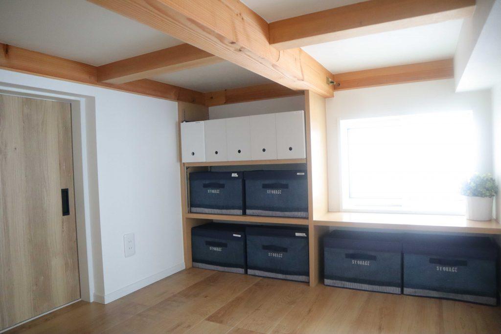 注文住宅では収納スペースとして蔵を設置することも可能。