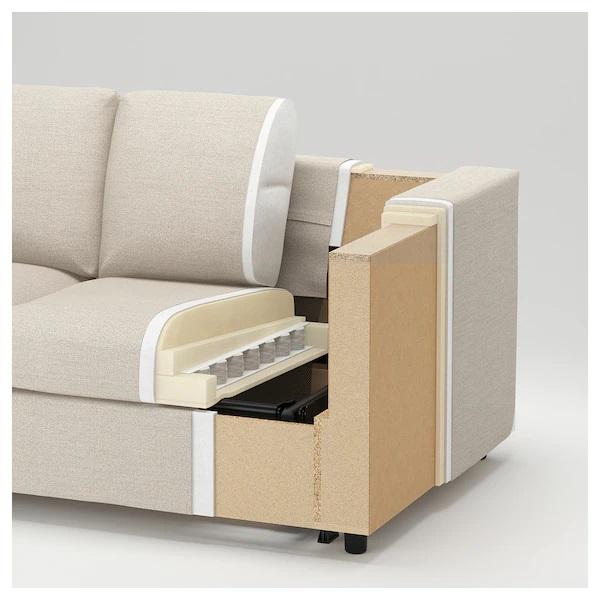 Finnala sofa cross-section