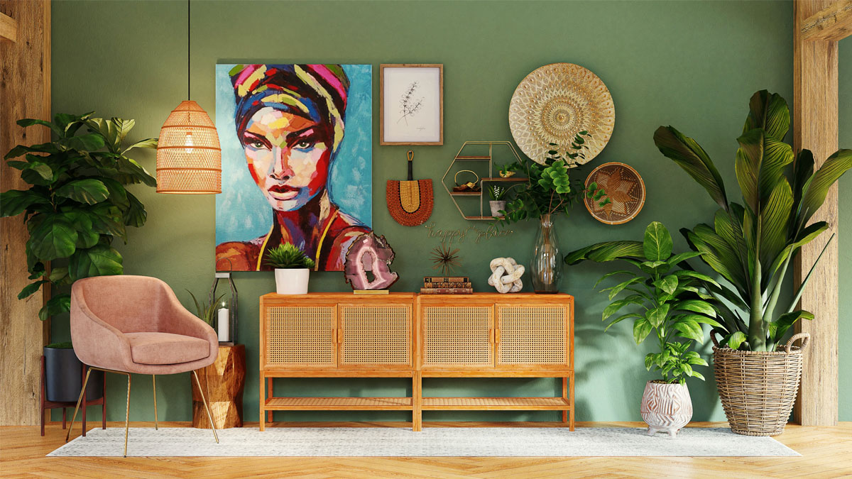 The ultimate guide to modern boho decor