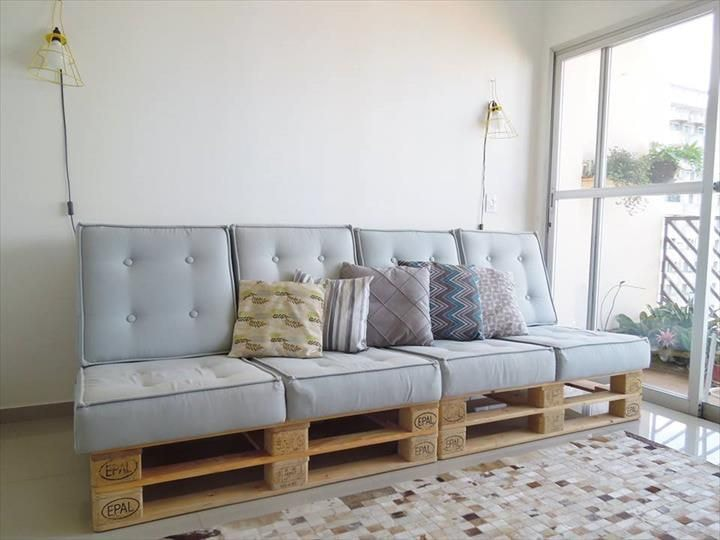 Bricolaje: ¿Cómo hacer un sofá con pallets? Guía paso a paso