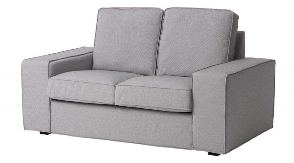 柔らかなクッションが人気のKIVIK シーヴィクシリーズのコンパクトソファは座り心地を重視したいという方におすすめ。