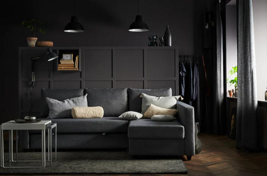 IKEAのソファベッドとして定番となったフリーヘーテンはデザインや価格など全てのバランスが良く、おすすめのソファベッドです。