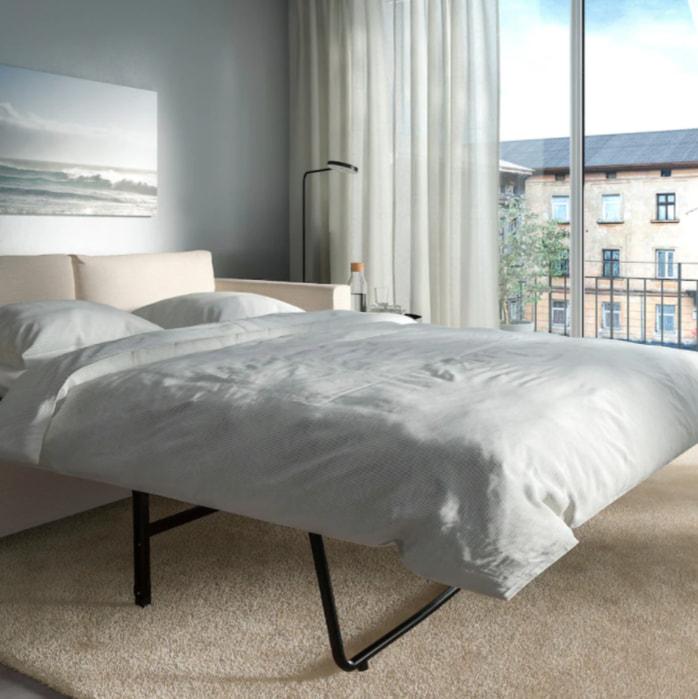 IKEAのヴィムレはソファだけでなく、ソファベッドとしてもおすすめ。